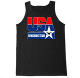 Men's USA Benching Team Tank Top