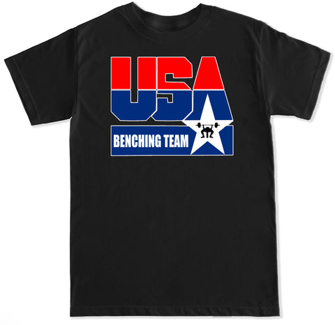 Men's USA Benching Team T Shirt