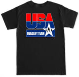 Men's USA Deadlift Team T Shirt