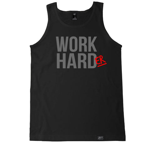 Men's WORK HARDER Tank Top