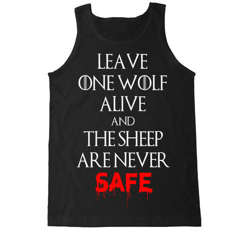 Men's WOLF AND SHEEP Tank Top
