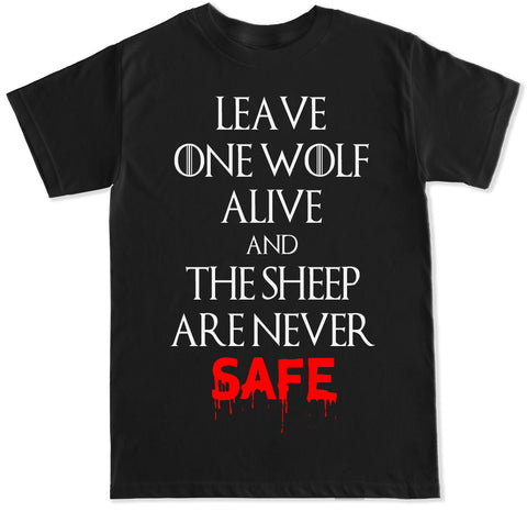 Men's WOLF AND SHEEP T Shirt