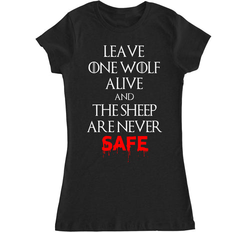 Women's WOLF AND SHEEP T Shirt