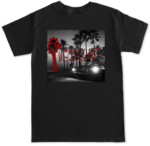 Men's Something About the Westcoast YG Blueface AllBlack T Shirt