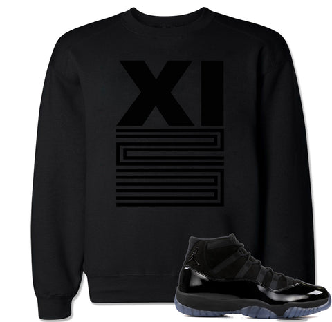 Men's XI 23 Blackout Crewneck Sweater