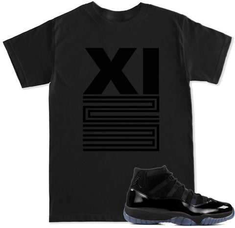 Men's XI 23 Blackout T Shirt