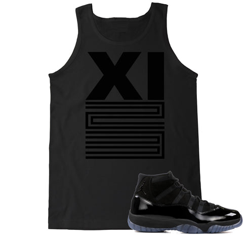 Men's XI 23 Blackout Tank Top