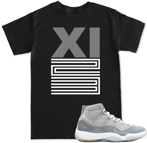Men's XI 23 Cool Grey T Shirt