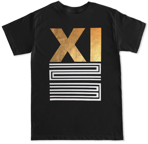 Men's Retro XI T Shirt Gold
