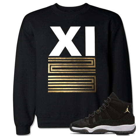 Men's Retro XI 23 Stingray Heiress Crewneck Sweater