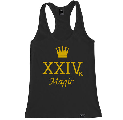 Women's XXIVK CROWN MAGIC Racerback Tank Top