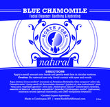 natural facial cleanser for sensitive dry skin with organic essential oils blue chamomile