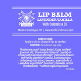 organic lip balm natural lavender essential oil