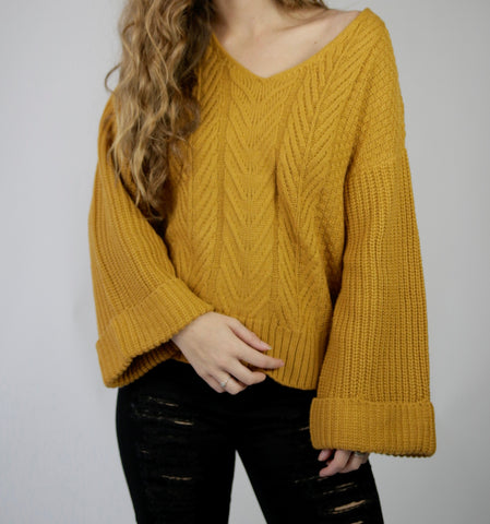 Burnt Sunshine Sweater