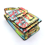 Graffiti Print Bag Cellphone Purse