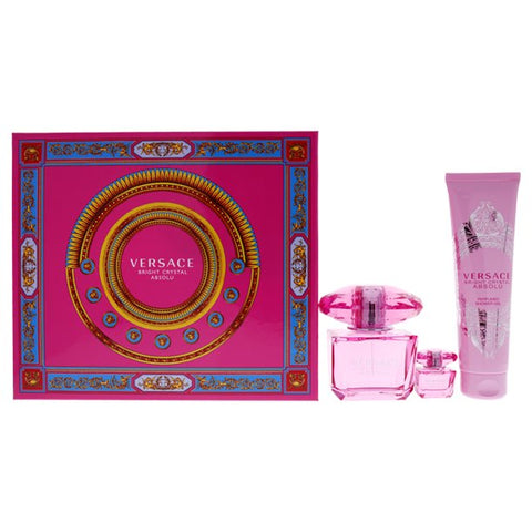 Versace Bright Crystal Absolu 3pc Gift Set