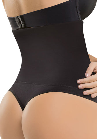 Strapless Moderate Compression Thong Body Shaper