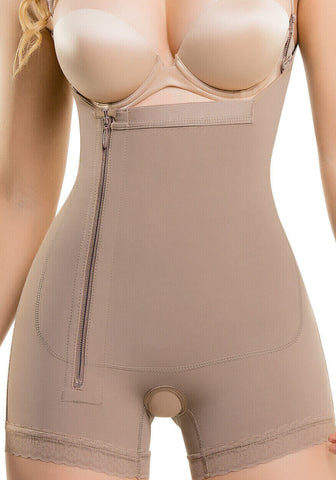 Braless Compression Bodysuit Boyshort