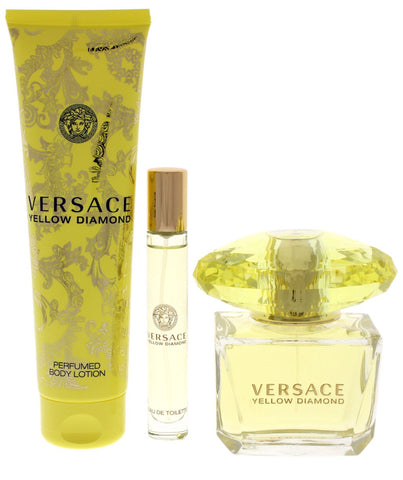 Versace Yellow Diamonds 3pcs Gift Set
