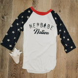 Merbabe Nation Baseball Tee