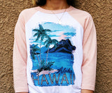 Tropical Gangster Baseball Youth Tee