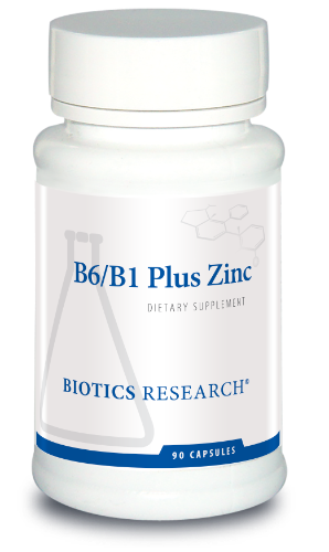 B6/B1 Plus Zinc 90C - Biotics Research NW