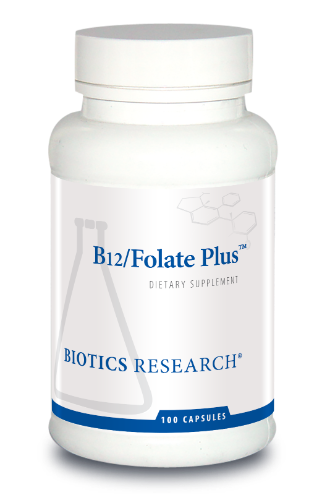 B12-Folate Plus 100C - Biotics Research NW