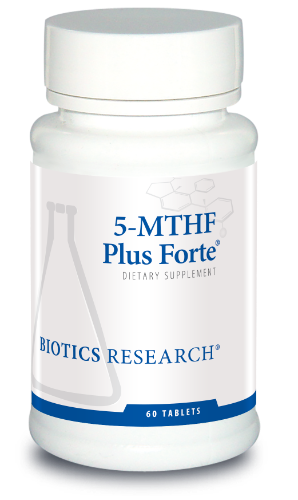 5-MTHF Plus Forte 60T - Biotics Research NW