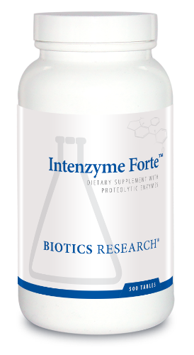 Intenzyme Forte 500T - Biotics Research NW