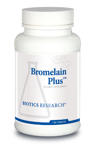 Bromelain Plus 100T - Biotics Research NW