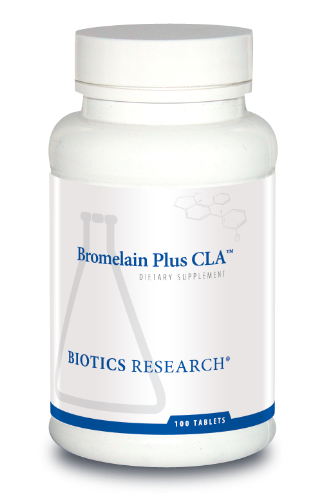 Bromelain Plus CLA 100T - Biotics Research NW