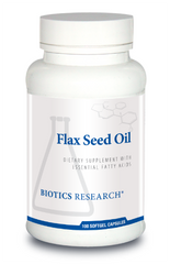 Flax Seed Oil 100C - Biotics Research NW