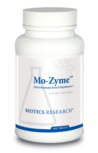 Mo-Zyme (Molybdenum) 100T - Biotics Research NW