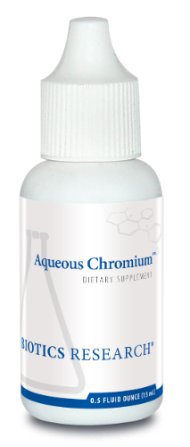 Aqueous Chromium .5 oz. - Biotics Research NW