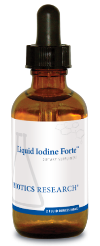 Liquid Iodine Forte 2 oz. - Biotics Research NW