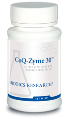 CoQ-Zyme 30 (30mg) 60T - Biotics Research NW
