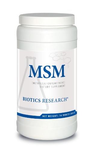 MSM Powder 16 oz. - Biotics Research NW