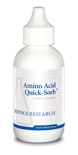 Amino Acid Quick Sorb 2 oz. - Biotics Research NW
