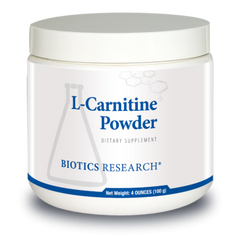 L-Carnitine Powder 4 oz. - Biotics Research NW