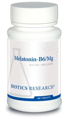 Melatonin-B6/Mg 60T - Biotics Research NW