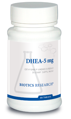 DHEA (5mg)  60T - Biotics Research NW