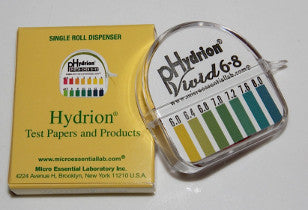 pHydrion Papers Urine (Cat. #067) 5.5 to 8.0