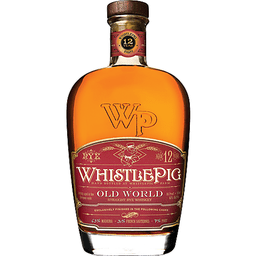 WHISTLE PIG OLD WORLD 12YR RED LABEL  WHISKEY 750ml
