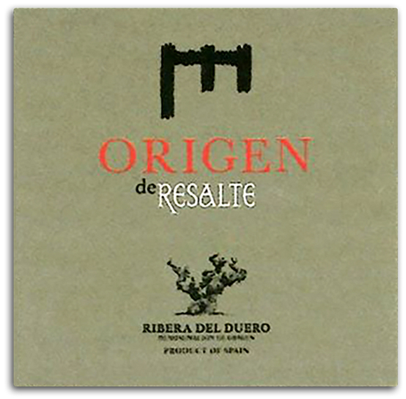 Origen de Resalte Tempranillo 2015 750ml