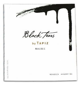 "Tapiz ""Black Tears"" Malbec 2011 750ml"