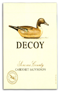 "Decoy ""Sonoma County"" Cabernet Sauvignon 2016 750ml"