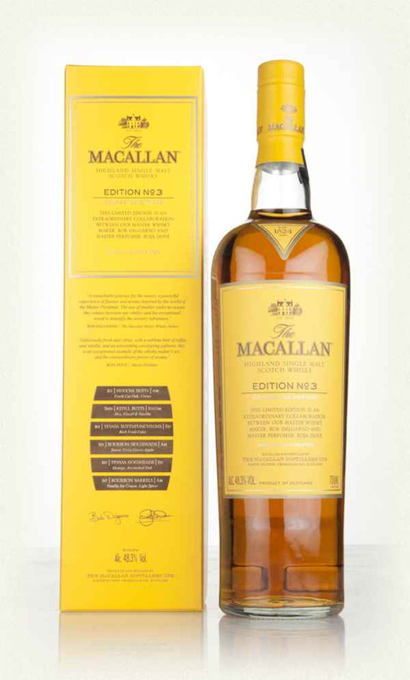 MACALLAN EDITION 3 WHISKEY 750ml