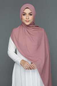 NN Basic Shawl (Mauvelous Rose)