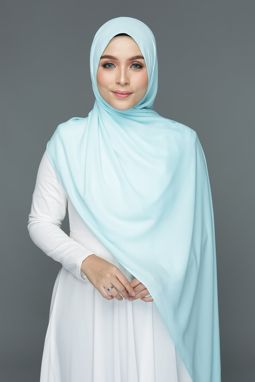 NN Basic Shawl (Mint Mojito)