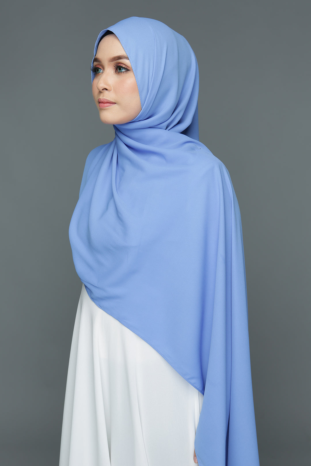 NN Basic Shawl (Spa Blue)